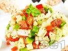 Рецепта Тунизийска салата с краставици и риба тон
